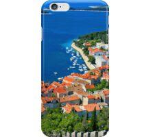 Croatia Coastal line iPhone Case/Skin