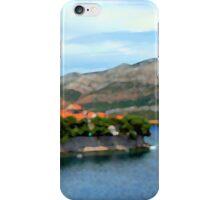Croatia Inlet iPhone Case/Skin