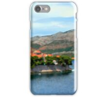 Croatia Inlet iPhone Case/Skin