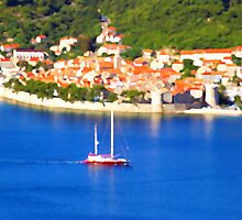 Croatia Boats by JessicaRoss