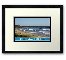 Summer Swell Framed Print