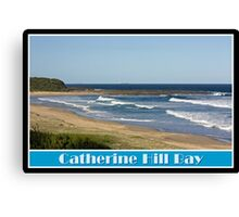 Summer Swell Canvas Print