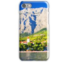 Croatia Mountainside iPhone Case/Skin