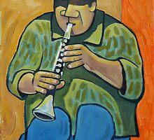 Chicago Jazz Man by Robert Holewinski
