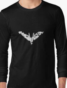 Batman 'Chalk Bat Signal' from The Dark Knight Rises Long Sleeve T-Shirt