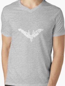 Batman 'Chalk Bat Signal' from The Dark Knight Rises Mens V-Neck T-Shirt