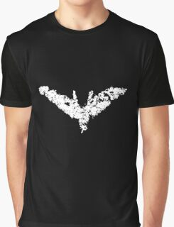 Batman 'Chalk Bat Signal' from The Dark Knight Rises Graphic T-Shirt