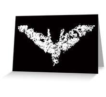 Batman 'Chalk Bat Signal' from The Dark Knight Rises Greeting Card