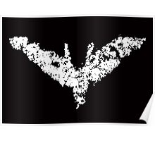 Batman 'Chalk Bat Signal' from The Dark Knight Rises Poster
