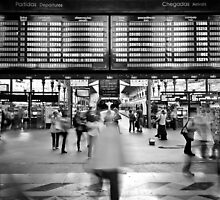Everyday is a hustle and bustle - São Bento Train Station, PORTUGAL by Eduardo Ventura