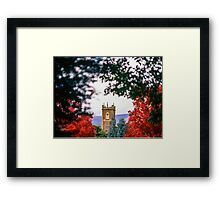 Clock Tower—Government House Tasmania Framed Print
