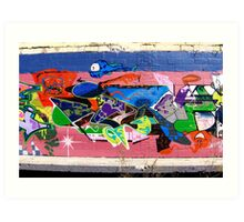 Graffiti As Art - Art Print