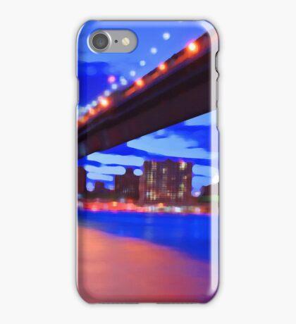 New York City Skyline Bridge iPhone Case/Skin