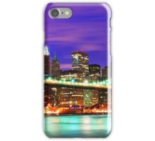 New York City Purple Skyline iPhone Case/Skin