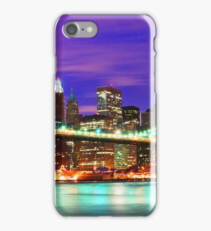 New York City Purple Skyline iPhone Case/Skin