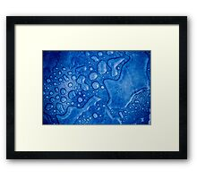 In my shower  Framed Print