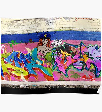 Graffiti As Art - Poster