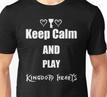 Keep Calm and Play Kingdom Hearts Tee-Shirt Unisex T-Shirt
