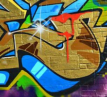 Graffiti close up - by Schoolhouse62
