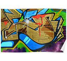 Graffiti close up - Poster