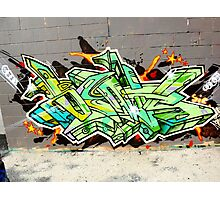 Graffiti As Art  Photographic Print