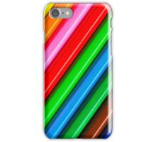 Diagonal Pencils iPhone Case/Skin
