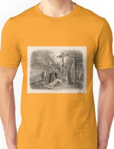 The Crucifixion from painting by Louis Kurz (1907) Unisex T-Shirt