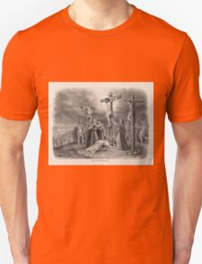 The Crucifixion from painting by Louis Kurz (1907) T-Shirt