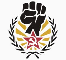 Soviet Raised Fist with Red Star Stickers by NeoFaction