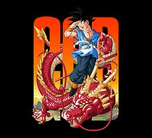 The God Son Goku by coffeewatson