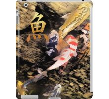 koi peace 4 iPad Case/Skin