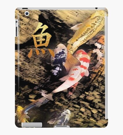 koi peace 4 iPad Case/Skin