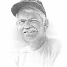 drawing of departed uncle  by Mike Theuer