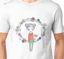 hand-drawn Love Unisex T-Shirt
