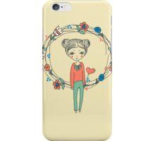 hand-drawn Love iPhone Case/Skin