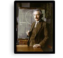 Albert Einstein, 1921 Canvas Print