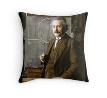 Albert Einstein, 1921 Throw Pillow