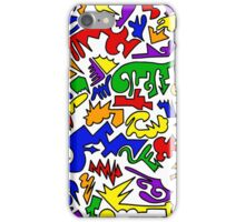 Urban Chaos Colorful iPhone Case/Skin