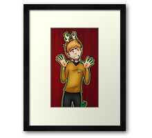Christmas - Jim Kirk Framed Print