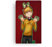 Christmas - Jim Kirk Canvas Print