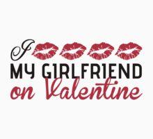 I kiss my girlfriend on Valentine Baby Tee