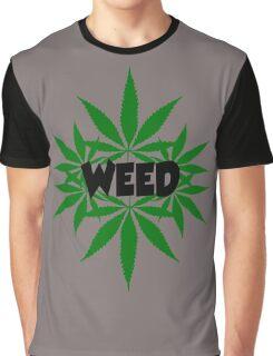 weed ganja  smoke for rasta Graphic T-Shirt