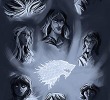 House Stark  by kallielef84