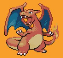 Pokemon FR/LG: 006 Charizard by RWHTL
