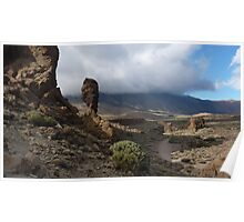 Teide Clouds Poster