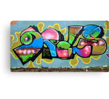 Graffiti As Art  Canvas Print