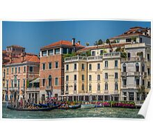 Mediterranean Venice Italy Poster