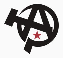 Anarcho-Communism Symbol Stickers by NeoFaction