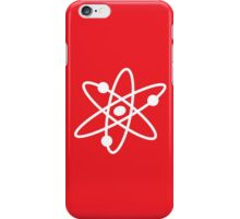 The Big Bang Theory Atom Logo 2 (in white) iPhone Case/Skin