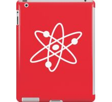 The Big Bang Theory Atom Logo 2 (in white) iPad Case/Skin